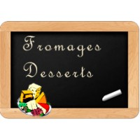 Fromages -Desserts- Fruits