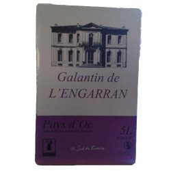 Galantin de l'Engarran Rouge IGP Bags In Box (5L)
