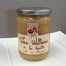 Compote Poire William à la Vanille (590g)