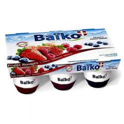 6 Yaourts Panachés Fruits Rouges (x6-125g)