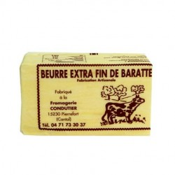 Beurre de Barratte du Cantal (250g)