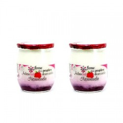 Yaourts Framboise Ferme des Peupliers (2x125g)
