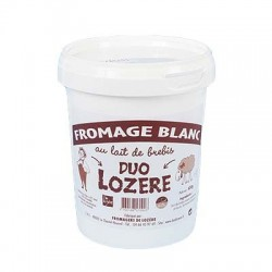 Fromage Blanc Brebis Duo Lozère (400g)