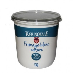 Fromage Blanc Nature Ker Noelle (1kg)